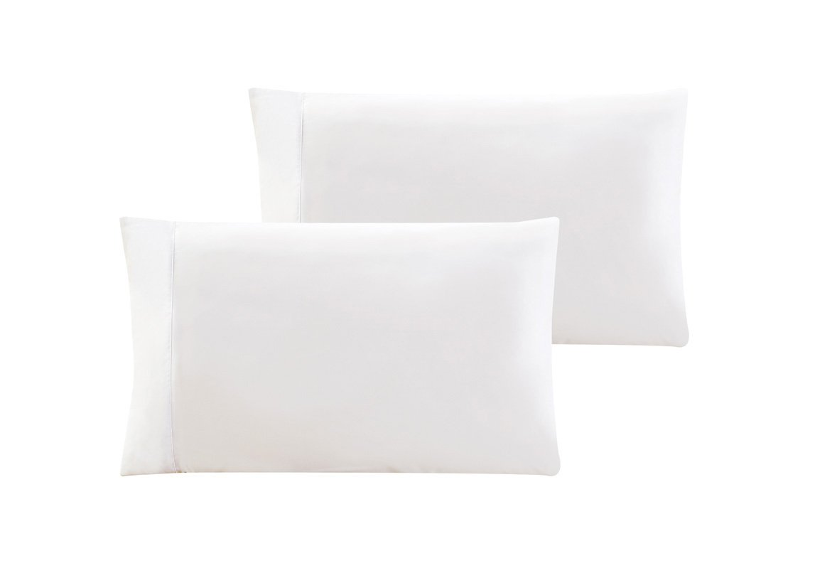 20 Piece (10-Pairs) King size 100% Cotton White Percale Wholesale Bulk Discount Pillowcases Tie-Dying, Silk Screening, Hotels, Crafts, Camps, Parties, Physical Therapy