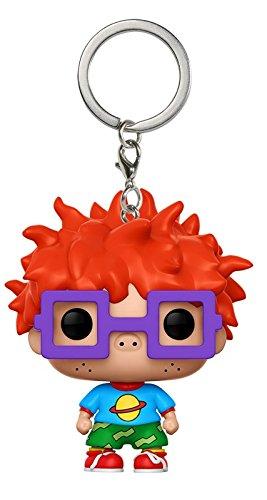 Nickelodeon Keychain (Funko Pop Keychain Rugrats Chuckie Action Figure)