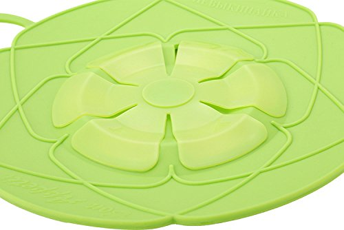 Spill Stopper - Kitchen Gadgets Silicone Lid Spill Stopper Pot Cover 28.5cm Diameter Cooking Pot Lids Utensil - Pot Lid