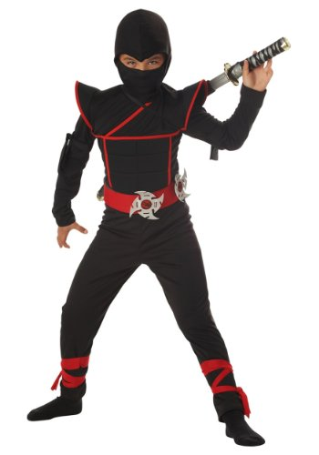 Big Boys' Stealth Ninja Costume 2XL (14-16) 2017