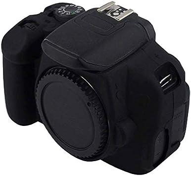 XHC Estuche Protector de cámara Funda Protectora de Silicona Suave for Canon EOS 650D / 700D (Color : Black): Amazon.es: Electrónica