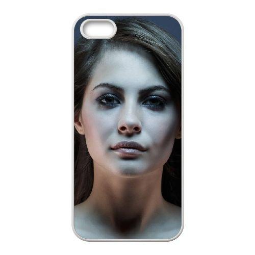 Thea Queen 001 coque iPhone 4 4S cellulaire cas coque de téléphone cas blanche couverture de téléphone portable EOKXLLNCD20369