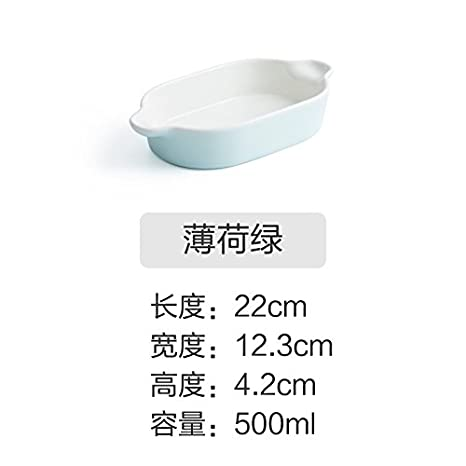 YUWANW - Bandeja de Horno Rectangular para Horno de arroz ...