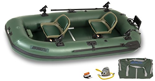 Sea Eagle Stealth Stalker Frameless Fishing Boat, Green