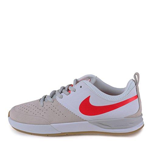 Nike Hommes Lunaire Oneshot Skate Chaussure Blanc / Lsr Crimson-crmsn-lt  Marron ...