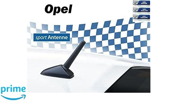 NIQ Am/FM de Coche Auto de Tuning de Varilla Corta de Deporte de Techo de M5 + M6 Rosca de Antena de Recambio para Opel: Amazon.es: Electrónica