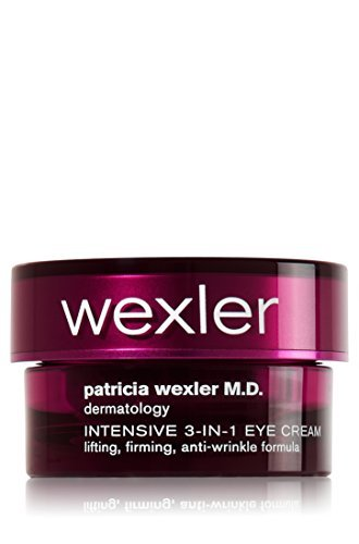 (Patricia Wexler M.D. Dermatology Intensive 3-in-1 Eye Cream. Lifting, Firming, Anti-Wrinkle Formula, 0.5 Ounce)