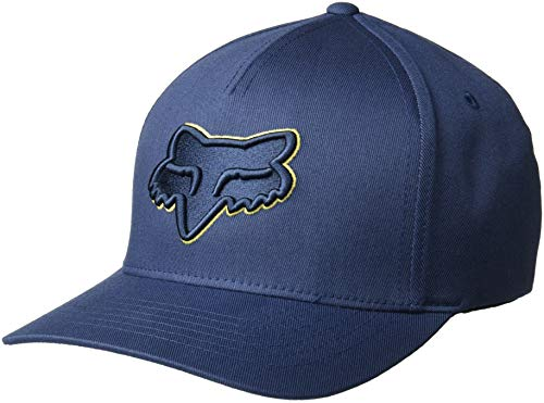 Racing Hat Cap Baseball (Fox Men's Epicycle Flexfit HAT, Navy L/XL)