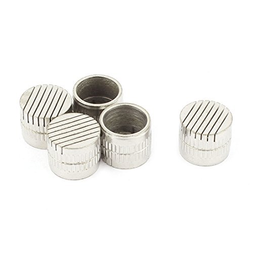DealMux 5Pcs Mould Parts Stainless Steel Slotted Type Core Box Vents 12mmx10mm