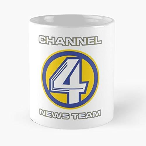 Amazon com: Channel 4 News Team Four - Morning Coffee Mug