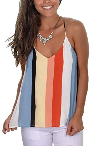 WFTBDREAM Womens Camisoles and Tanks Mulitcolor Cami Tank Top ()