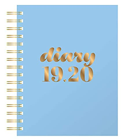 Amazon.com : Collins Scandi A5 Day to Page 2019-2020 Diary ...