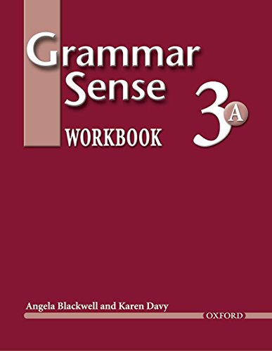 Grammar Sense 3: Workbook 3 Volume A