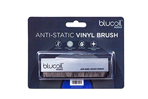 Anti Static Vinyl : Blucoil audio carbon anti static fiber vinyl lp record