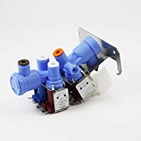 Genuine OEM WR57X10026 GE Refrigerator Water Inlet Valve Quick Connections ,-WH#G4832 TYG43498TY4-U114249