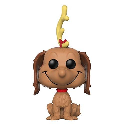 Funko - Dr Seuss Figurines Pop Vinyle: Books Grinch: Max the Dog, 21757