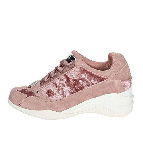 Fornarina Pi18se8922vr67 Femmes Bas Baskets Rose