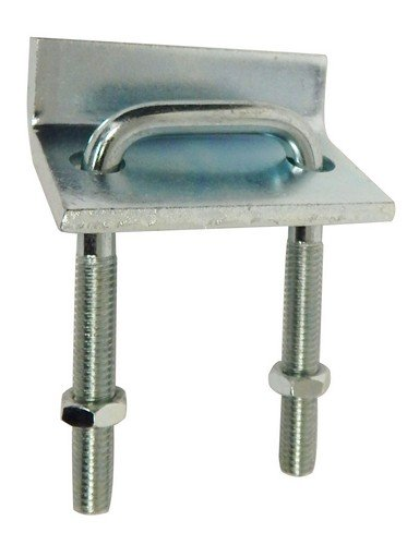 Strut to Beam Clamp with Square U-Bolt for 13/16'' & 1-5/8'' Channel (Pkg of 10)