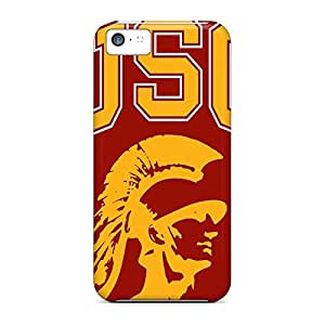 iphone 6plus 6p Hot phone covers Snap On Hard Cases Covers Shock-dirt usc trojans