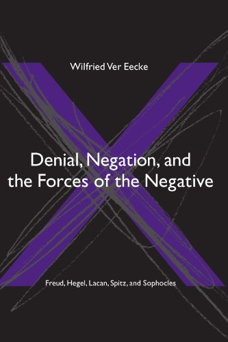 Denial, Negation, and the Forces of the Negative: Freud, Hegel, Lacan, Spitz, and Sophocles (SUNY Series in Hegelian Stu