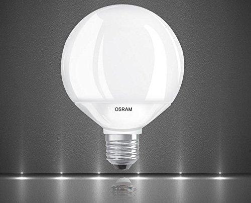 Bombilla LED Osram de 9,5W (=60W) G95