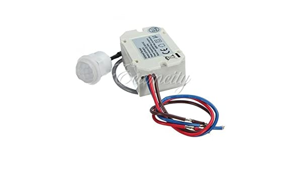 Generic NV _ 1001005731 _ YC-UK2 alarmr M temporizador relé Ensor 180 ~ 240 V Mini ctor Automotive Mer R Sensor PIR de movimiento detector F. Automático, Caravan alarma 180 ~ 240: Amazon.es: Electrónica