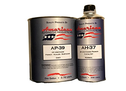 Urethane Base Coat Car Auto - AP-39 Automotive Paint Primer Grey 2K Urethane Gallon Kit Normal Activator