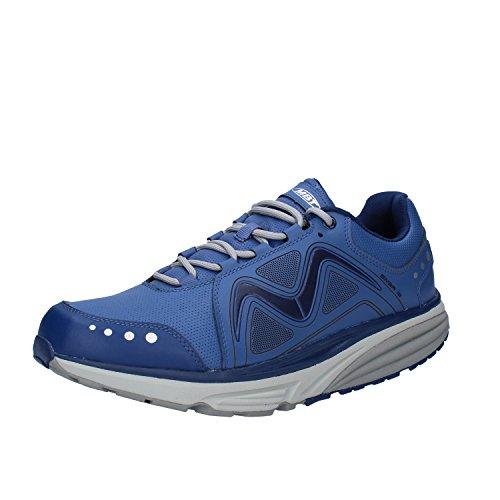 MBT Sneakers Mujer Cuero (43 EU, Azul)