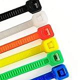 1200 Pieces Zip Ties, Multi-Purpose Assorted