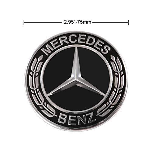 Amazon.com: Searlleng - Tapacubos para Mercedes-Benz, 4 ...
