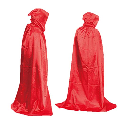 [Oksale® Halloween Death Hooded Fluff Fiber Cloak Adult Long Section Of Mopping The Floor Masquerade Cope Robe] (Nurse Costumes For Teens)