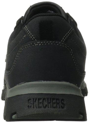 Skechers Womens Grand Jams Cardinal Oxford, Black, 10 M US Black Suede
