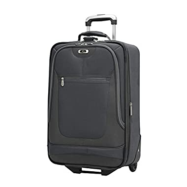 Skyway Luggage Epic 21 Inch 2 Wheel Expandable Carry On, Black, One Size