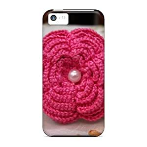 Awesome WonderwallOasis Defender Tpu Hard Case Cover For Iphone 5c- Crochet