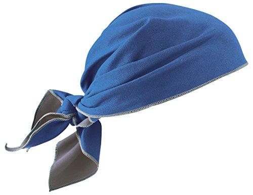 Ergodyne Core - Ergodyne Chill-Its 6710MF Blue Microfiber Cooling Dew Rag