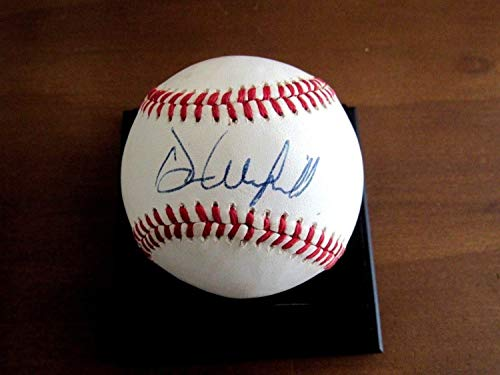 - Dave Winfield Hall of Fame Yankees Padres Blue Jays Autographed Signed Auto Vintage Baseball - JSA Certified Memorabilia