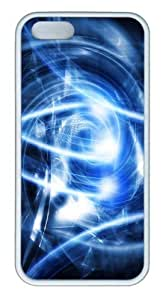 Abstract blue art pc hard SMMNKOL? Case Cover for iPhone 6 4.7 ??¨¬C White