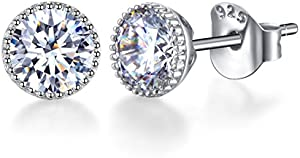 Sweepstakes: SENCLE 18K White Gold Plated Sterling Silver…