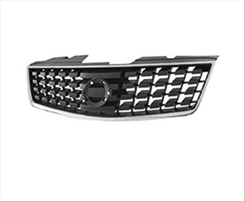 2007 Nissan Sentra Grille - OE Replacement Nissan/Datsun Sentra Grille Assembly (Partslink Number NI1200222)