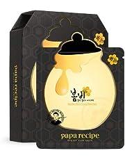 [Papa Recipe] Bombee Honey Mask Pack Black 10 Sheets [1 BOX]