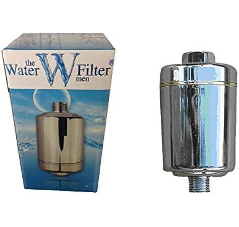 The Water Filter Men Inline - Filtro para Ducha - Universal - BS2 - El Cloro y Cal Ducha Filtro de Agua: Amazon.es: Industria, empresas y ciencia