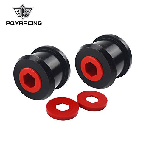 PQYRACING Front Wishbone Rear Bushes for BMW Mini Cooper S R50 / R52 / R53 00-06