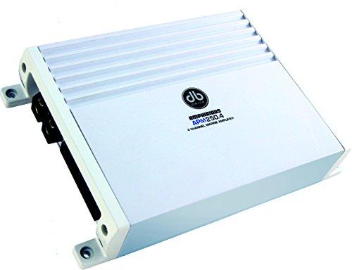 DB Drive APM 250.4D Amphibious 4-Channel Stereo Marine Am...