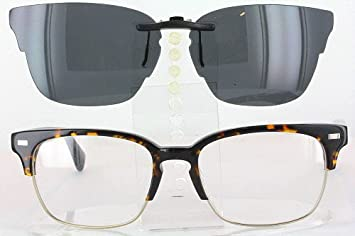 601aec3363 Image Unavailable. Image not available for. Colour  WARBY PARKER AMES-3200-54X18  POLARIZED CLIP-ON SUNGLASSES (Frame ...