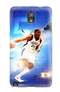 Excellent Galaxy Note 3 Case Tpu Cover Back Skin Protector Oklahoma City Thunder Basketball Nba