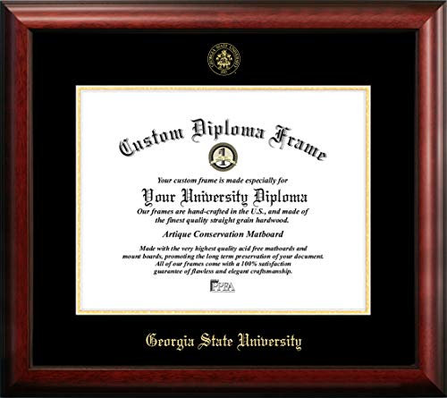 """Campus Images """"Georgia State University Embossed Diploma Frame, 14"""" x 17"""", Gold from Campus Images"""