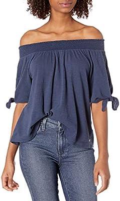 Roxy Womens Carribean Mood Off The Shoulder Shirt