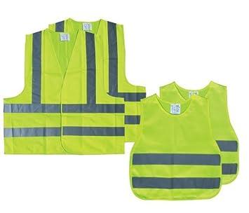 AA Chalecos Reflectantes de Seguridad para la Familia (Family Pack): Amazon.es: Coche y moto