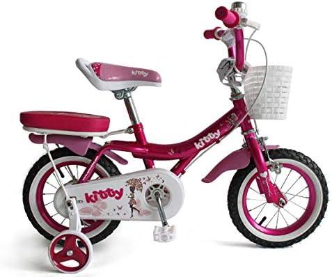 Upten Kitty Kid S Bike Girls Kids Cycle 12 16 18 Inch Training