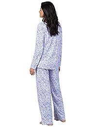 Addison Meadow Pajamas - Conjunto de pijamas para mujer, cuello de corbata